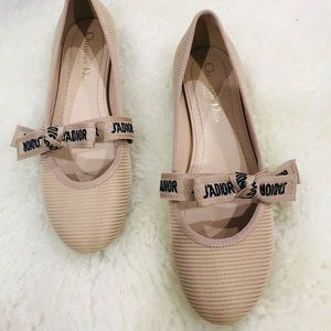 MISS J'ADIOR BALLET FLAT IN TECHNICAL CANVAS